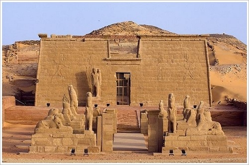 Tempel von Wadi el Sebua Lake_Nasser, Egyptby  steib-pur-reisen